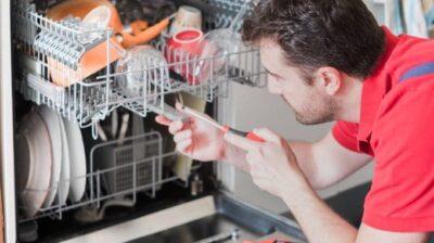 نحوه تمیز کردن ماشین ظرفشویی، تعمیر ماشین ظرفشویی
